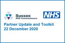 Covid-19 vaccinations: Sussex CCGs Update and Toolkit